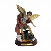 Archangel Michael Statue Religious Figurine Sculpture Ornament